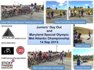 Juniors Day Out - MDSO Mid Atlantic Championships