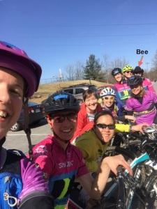 Team BBC Ladies and Muddy Pedals 2015